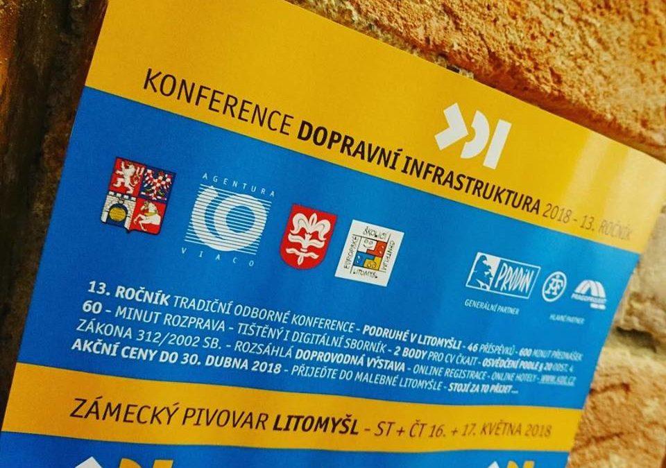 Potkáme se na konferenci Dopravní infrastruktura 2018
