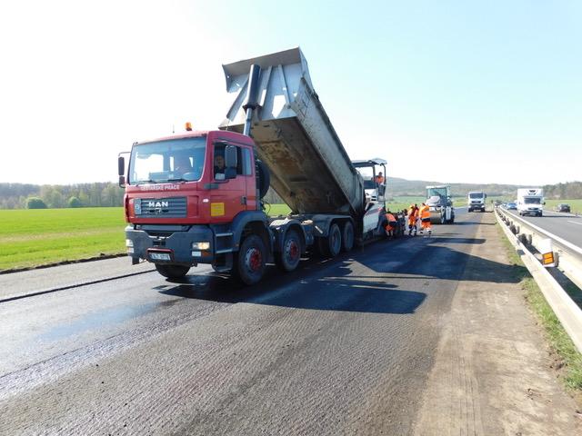 Dozorovali jsme opravu dálnice D10 uBakova