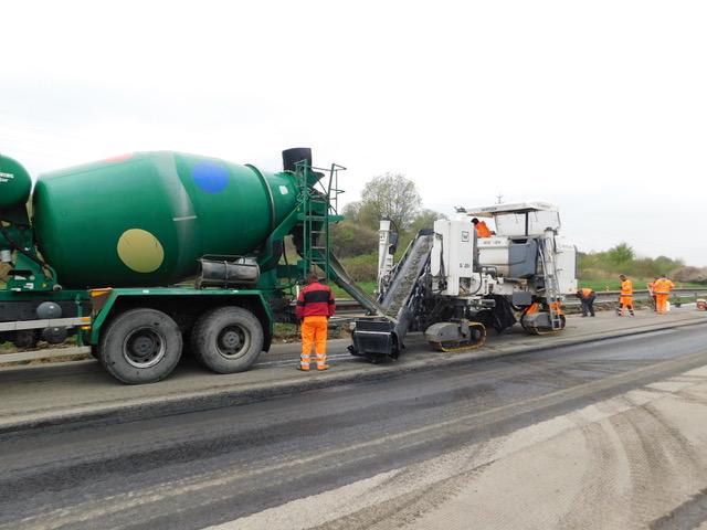 Dozorovali jsme opravu dálnice D10 u Bakova